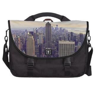 Empire State Building del horizonte de NYC, WTC 4V Bolsas De Portatil