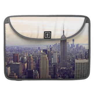 Empire State Building del horizonte de NYC, WTC 4V Fundas Macbook Pro