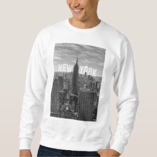 Empire State Building del horizonte de NYC, WTC BW Jersey