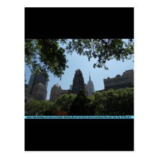 Empire State Building, edificio americano del Postales