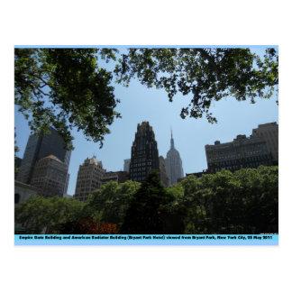 Empire State Building, edificio americano del Tarjetas Postales
