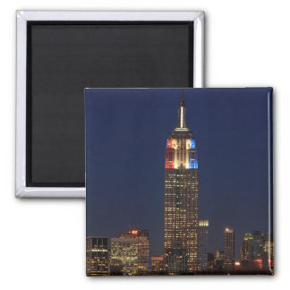 Empire State Building Election Night 2012 1 Refrigerator Magnets