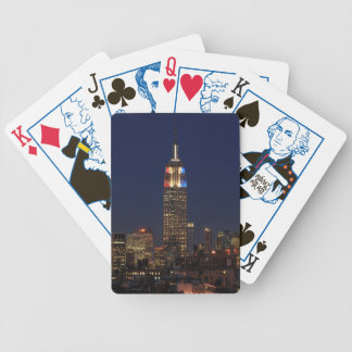 Empire State Building: Election Night 2012 #1 Bicycle Playing Cards