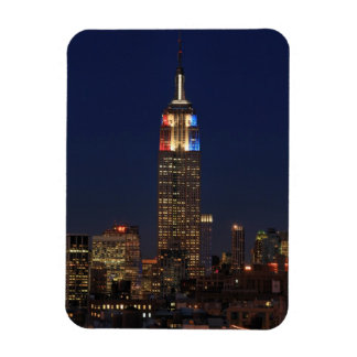 Empire State Building Election Night 2012 1 Rectangular Magnets