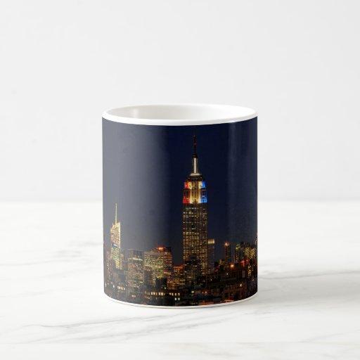 Empire State Building: Election Night 2012 #2 Coffee Mug