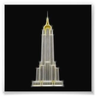 Empire State Building en Nueva York Fotografias