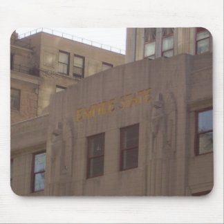 Empire State Building Facade Mouse Pad