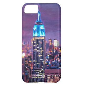 Empire State Building Feeling Like A Blue Giant iPhone 5C Cases