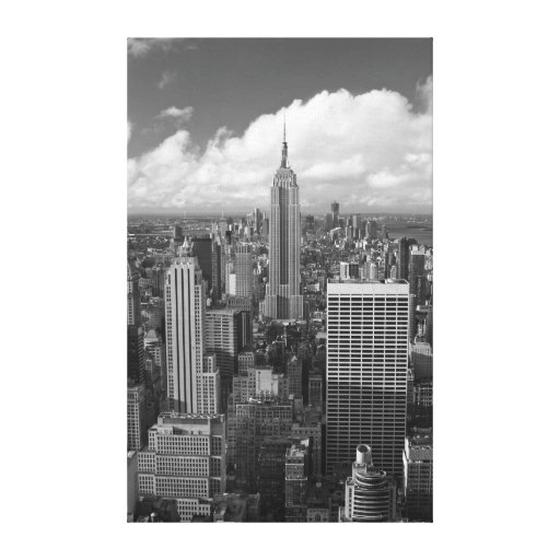 Empire State Building Gallery Wrapped Canvas