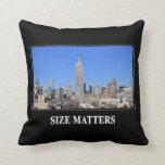 Empire State Building, horizonte de NYC: Materias Cojines