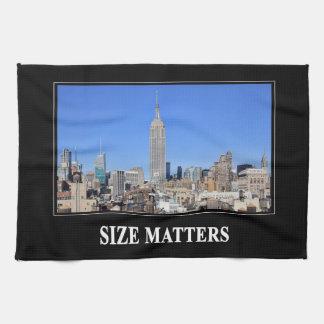 Empire State Building, horizonte de NYC: Materias Toallas De Cocina