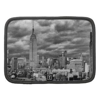 Empire State Building, horizonte tempestuoso de NY Planificador