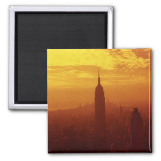 Empire State Building Imán Cuadrado