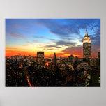 Empire State Building/impresión de Nueva York Posters