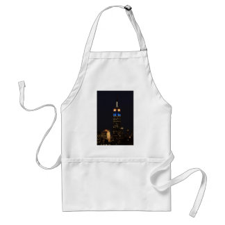 Empire State Building in Blue Pink & White - 01 Adult Apron