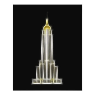 Empire State Building in New York Flyer
