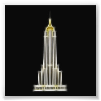 Empire State Building in New York Photo Print