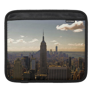 Empire State Building Landscape Sleeves For iPads
