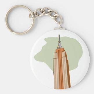 Empire State Building Llaveros Personalizados