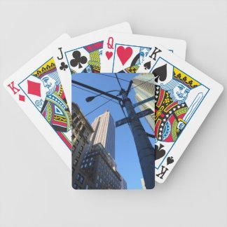 Empire State Building Manhattan Baraja Cartas De Poker