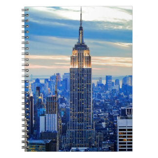 Empire State Building, Manhattan, New York City Note Books
