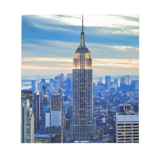 Empire State Building, Manhattan, New York City Notepad