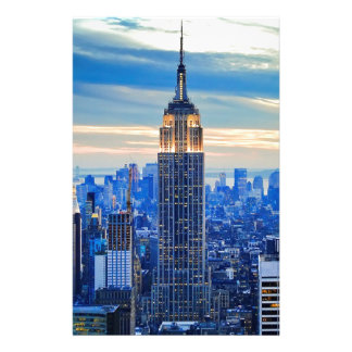 Empire State Building, Manhattan, New York City Papeleria De Diseño