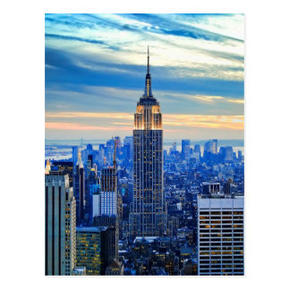 Empire State Building, Manhattan, New York City Postcard