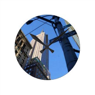 Empire State Building Manhattan Wall Clocks
