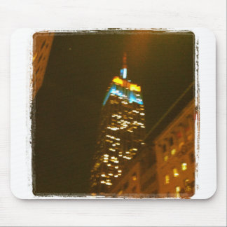 Empire State Building Mouse Pad