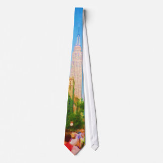 Empire State Building Neck Tie