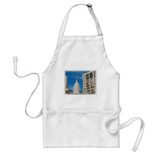 Empire State Building New York City April 2012 Adult Apron