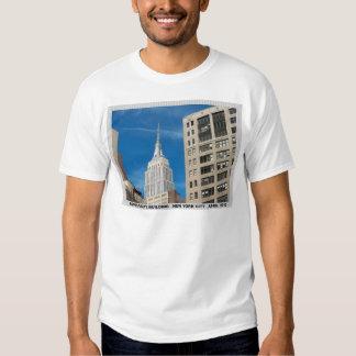 Empire State Building New York City April 2012 Shirt