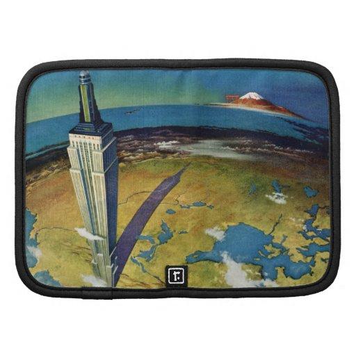 Empire State Building New York City del vintage Organizador
