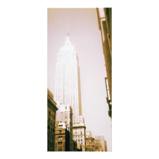 Empire State Building, New York City Personalized Rack Card