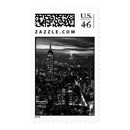 Empire State Building & New York City Postage