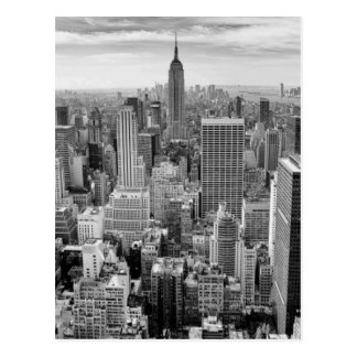 Empire State Building New York City Skyline Postcard