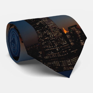 EMPIRE STATE BUILDING NEW YORK NECK TIE