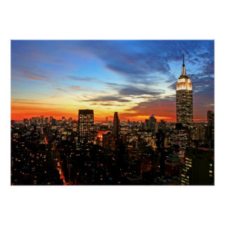 Empire State Building/New York Print