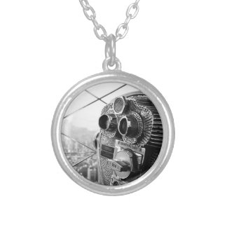 Empire State Building New York Pro Photo Round Pendant Necklace