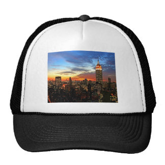 Empire State Building New York Trucker Hat