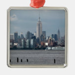 Empire State Building New York USA Christmas Ornaments
