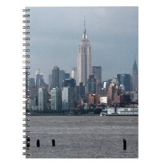 Empire State Building Nueva York los E.E.U.U. Libro De Apuntes