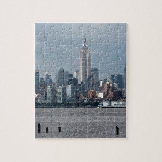 Empire State Building Nueva York los E.E.U.U. Puzzle