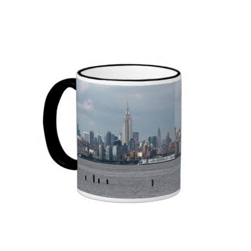 Empire State Building Nueva York los E.E.U.U. Tazas De Café