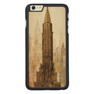 Empire State Building NYC Carved Maple iPhone 6 Plus Slim Case