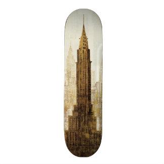 Empire State Building NYC Custom Skate Board