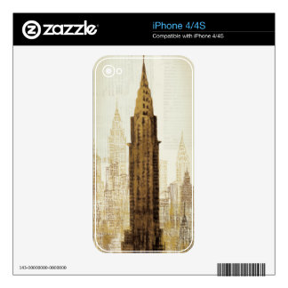 Empire State Building NYC iPhone 4S Decal