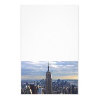 Empire State Building NYC, NY Papelería Personalizada