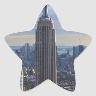 Empire State Building NYC, NY Star Sticker